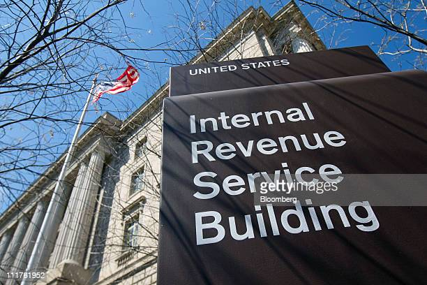 The Internal Revenue Service building stands in Washington DC US on Wednesday April 6 2011 The IRS would have to suspend tax audits the Small...