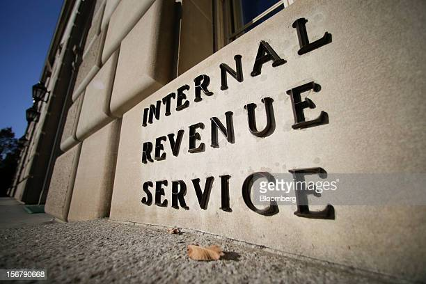 The Internal Revenue Service building stands in Washington DC US on Tuesday Nov 13 2012 President Barack Obama expressed confidence that he and...