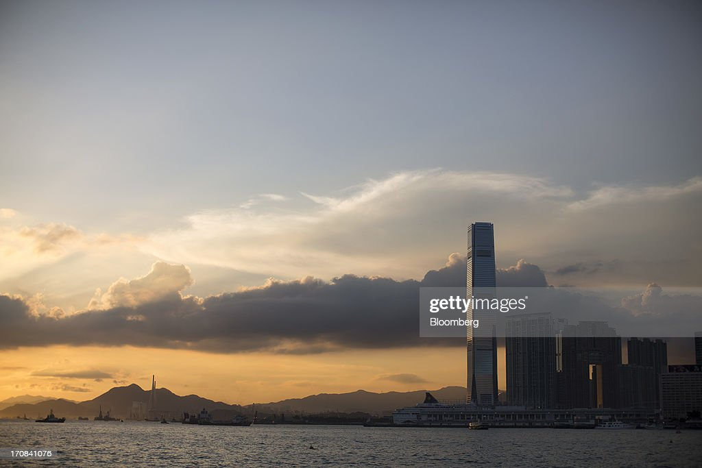 The International Commerce Centre (ICC) stands in West Kowloon in Hong Kong, China, on Tuesday, June 18, 2013. A shortage of housing, low mortgage costs and a buying spree by mainland Chinese have led home prices to more than double since the beginning of 2009, shrugging off repeated attempts by the government to curb gains amid an outcry over affordability. Photographer: Jerome Favre/Bloomberg via Getty Images
