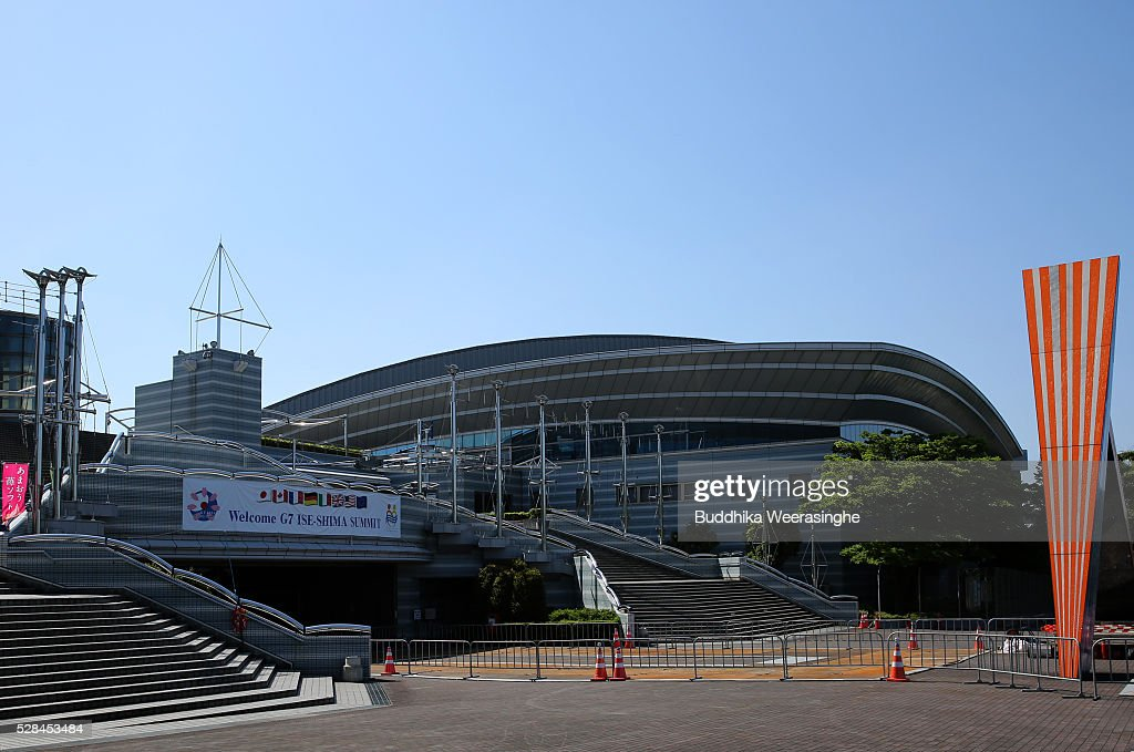 The international media center building to be used during the Ise-Shima Summit on May 5, 2016 in Ise, Japan. The G7 summit will be held in Ise-Shima, Mie prefecture on May 26 and 27, 2016.