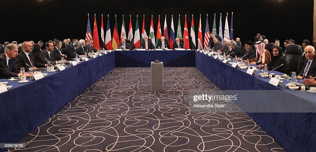 International Syria Support Group Meets In Munich