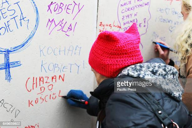 The International Women's Strike was held in Poland on International Women's Day on March 08 2017 Across the country thousands of women took to the...