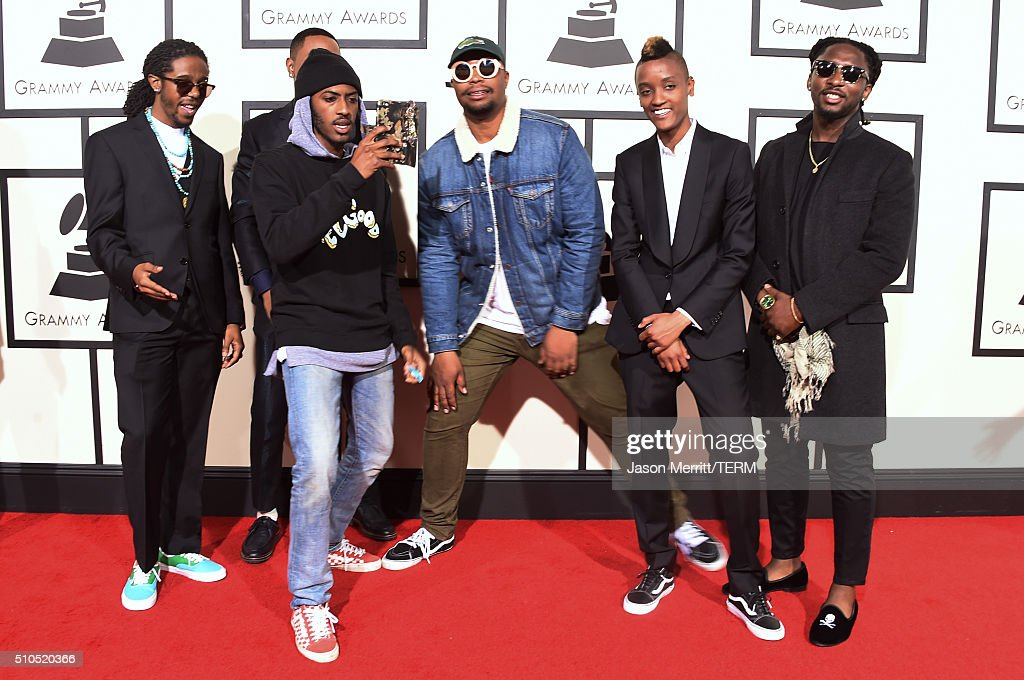 The Internet attend The 58th GRAMMY Awards at Staples Center on February 15, 2016 in Los Angeles, California.