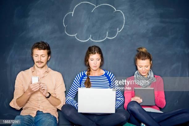 Nube de internet