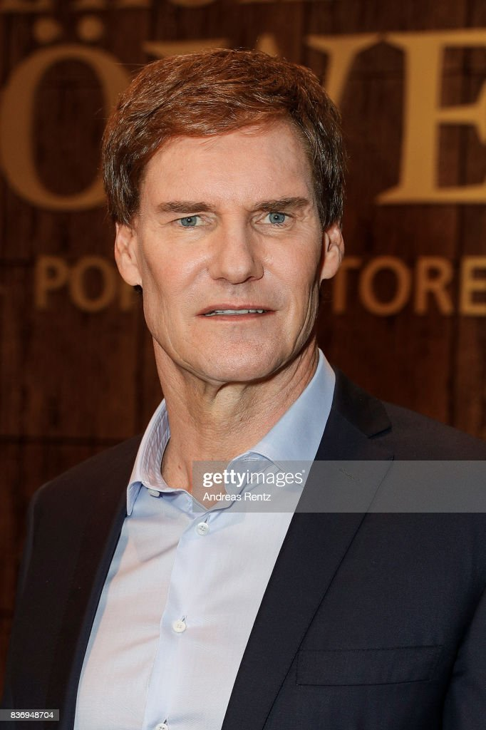 The investor Carsten Maschmeyer poses during the photo call for the fourth season of the TV show 'Die Hoehle der Loewen' on August 22, 2017 in Cologne, Germany.