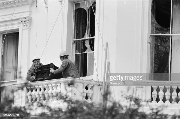 The Iranian Embassy Siege in London where six gunmen of the Iranian extremist group 'Democratic Revolutionary Movement for the Liberation of...