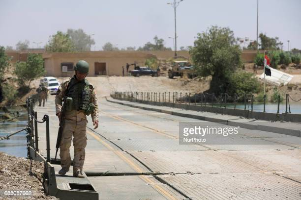 The Iraqi Army has established a bridge across the Tigris in Northern Mosul to allow civilians to escape the fighting in West Mosul and ease supplies...