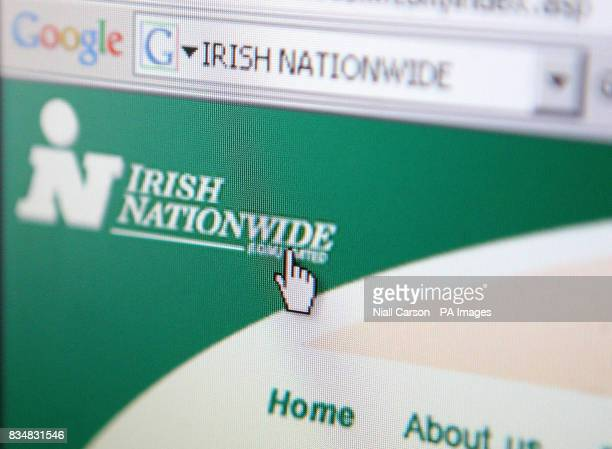 The Irish Nationwide web site The leading Irish building society rescued in a controversial Government bailout was forced to apologise today after...