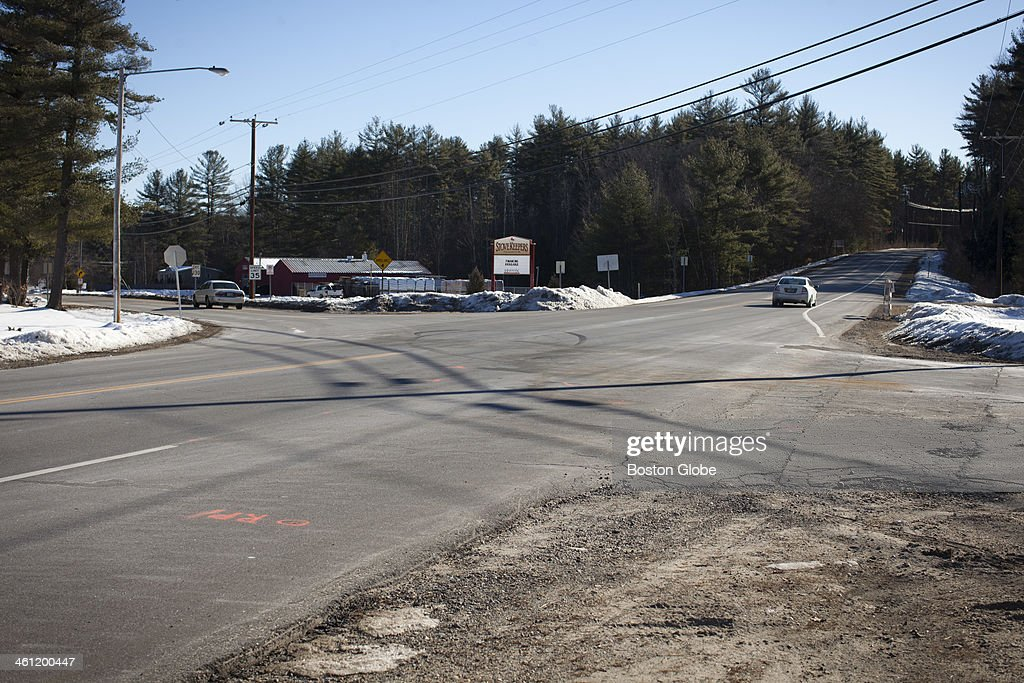 The is the intersection where Brookline, NH firefighter Stephen Whitcomb arrived at the scene of a fatal car crash and found out that the victim was his daughter, Katie Hamilton.