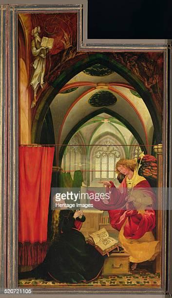 Annunciation Found in the collection of Musée dUnterlinden Colmar
