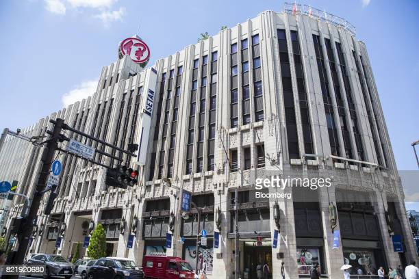 The Isetan Shinjuku department store operated by Isetan Mitsukoshi Holdings Ltd stands in Tokyo Japan on Tuesday July 11 2017 Shipments of alcohol...