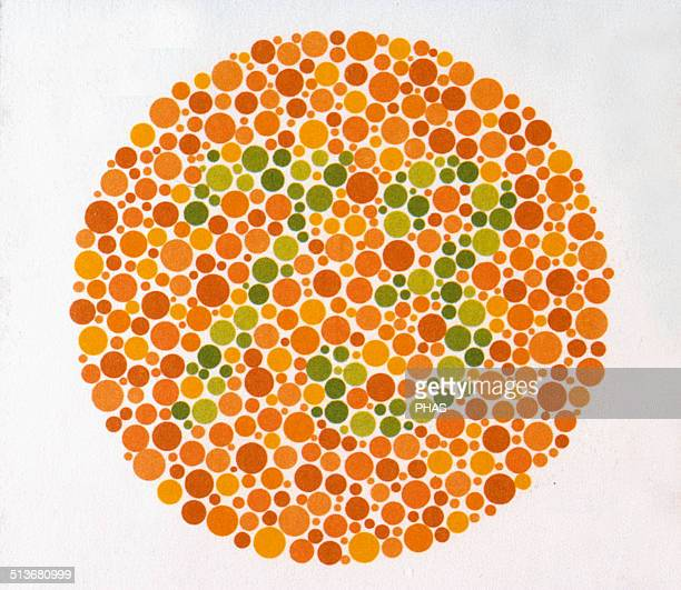 The Ishihara Color Test Color perception test for redgreen color deficiencies Ishihara Plate