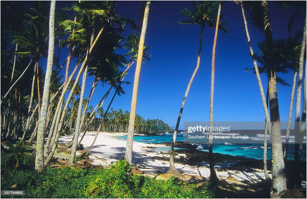 The Island of Upolu, Western Samoa.