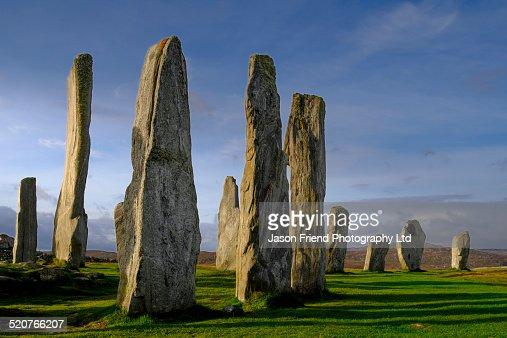 The Isle of Lewis, Callanish Stone Circle.