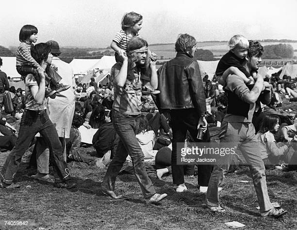 The Isle of Wight music festival at East Afton Farm Freshwater 27th August 1970