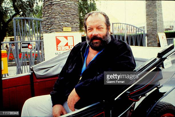 The italian actor Bud Spencer in Madrid 1983 Madrid Spain