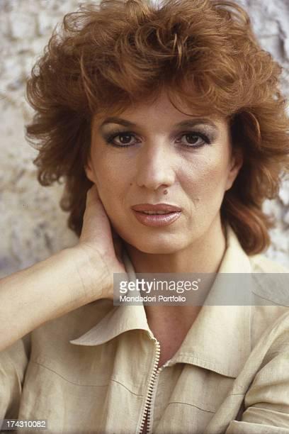 The italian actress Carla Gravina in Rome Rome Italy 1974