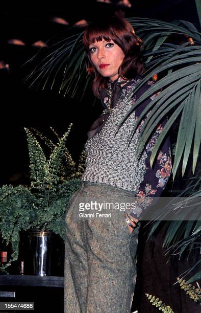 The Italian actress Elsa Martinelli in Madrid First October 1973 Madrid Castilla La Mancha Spain