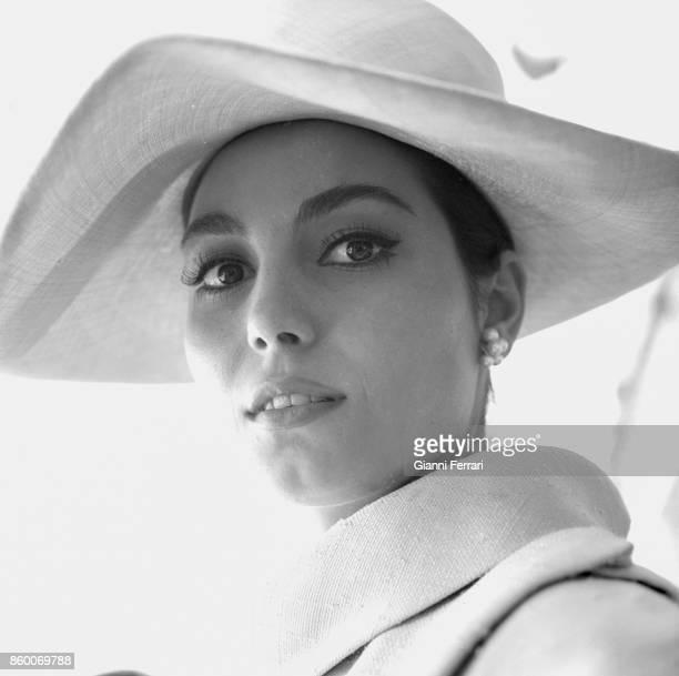 The Italian actress Rossana Schiaffino Madrid Spain
