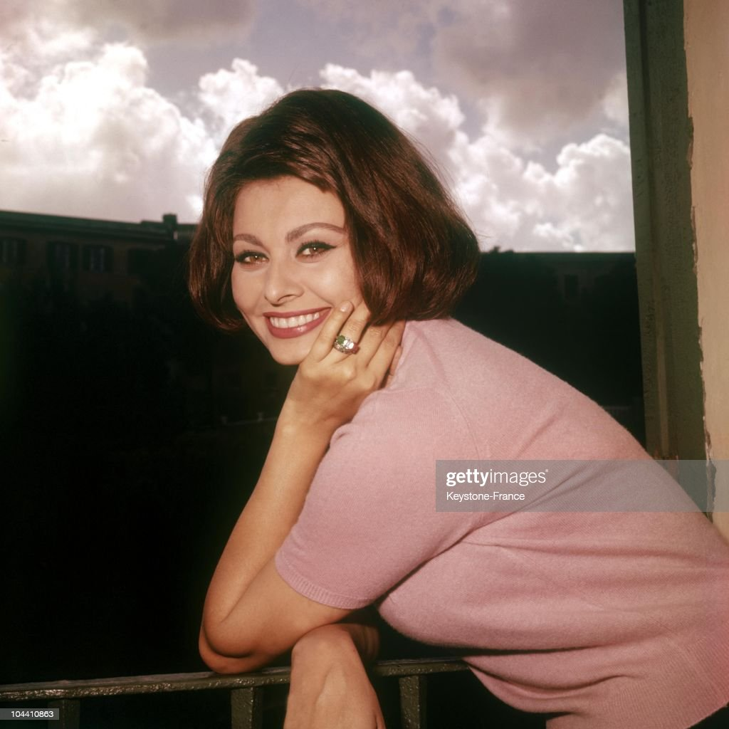 The Italian actress Sophia LOREN between 1955 and 1965 She began her career in 1949 in the film Quo Vadis and obtained international notoriety thanks...
