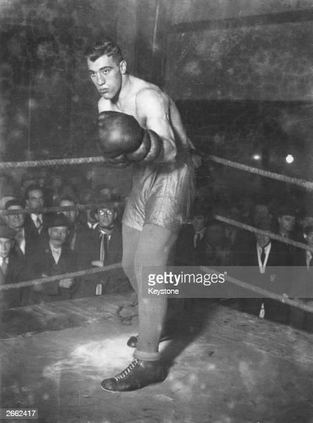 The Italian boxer Primo Carnera Original Publication People Disc HC0508