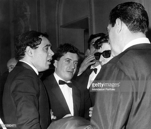 The Italian director and radio presenter Gianni Boncompagni commenting on Luigi Tenco's death Sanremo January 1967