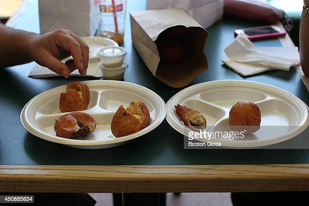 The Italian Kitchen is a longtime Lawrence Mass fixture it's been in this location for 54 years that specializes in two items Crispelli and arancini...