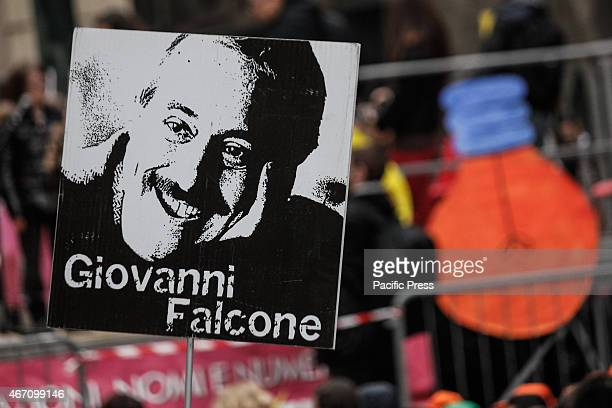 The Italian magistrate Giovanni Falcone who was murdered by the work of Cosa Nostra is considered one of the heroes symbol of the fight against the...