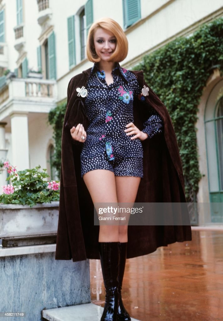 The Italian singer Raffella Carra in Spain, 1972, Madrid, Castilla La Mancha, Spain. (Photo by Gianni Ferrari/Cover/Getty Images).
