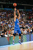 The italian small forward Luigi Datome during the game between Italy and Tunisia at 2016 FIBA Olympic Qualifying Tournament in Turin Italy on 4 July...