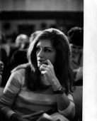 The Italianborn French singer Dalida byname of Iolanda Cristina Gigliotti participating in the 17th Sanremo Music Festival San Remo January 1967