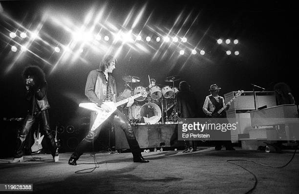 The J Geils Band performs at the Oakland Auditorium on March 24 1979 in Oakland California