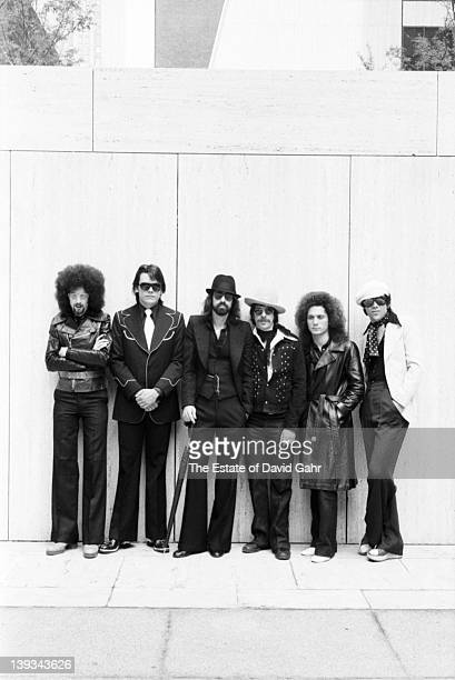 The J Geils Band pose for a portrait on June 12 1974 in New York City New York