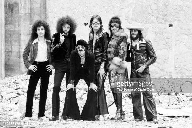 The J Geils Band pose for a portrait on October 4 1972 in New York City New York