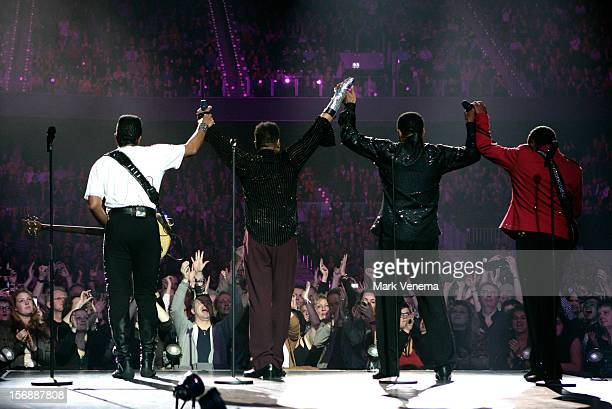 The Jacksons perform at Night Of The Proms at Ahoy on November 23 2012 in Rotterdam Netherlands