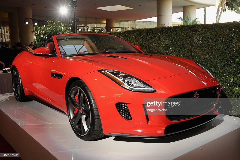 The Jaguar FTYPE Convertible at the 2014 BAFTA LA Jaguar Britannia Awards with Jaguar North America at The Beverly Hilton Hotel on October 30 2014 in...