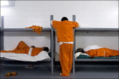 The jail at the Standing Rock reservation has 16 cells and 48 beds but sometimes twice that number of inmates When the jail is overcrowded people...
