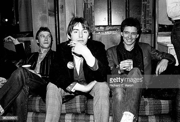 The Jam posed in New York in 1979 LR Rick Buckler Paul Weller Bruce Foxton
