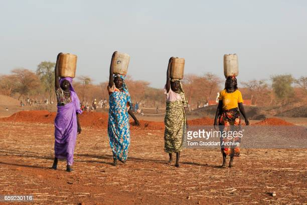 The Jamam refugee camp in Upper Nile State South Sudan houses 36500 vulnerable people who have fled across the border from their homes in Blue Nile...