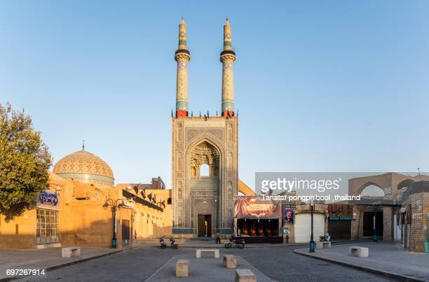 The Jameh Mosque of Yazd.