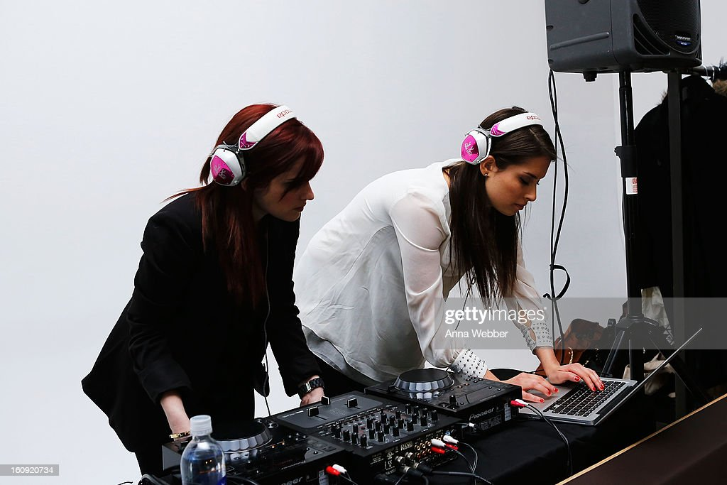 The Jane Doze spin at American Express VIP Cardmember Lounge At MADE at Milk Studios on February 7, 2013 in New York City.