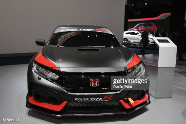 FRANKFURT FRANKFURT HESSE GERMANY The Japanese car manufacturer Honda presents the Honda Civic Type R at the 67 IAA The 67 Internationale...