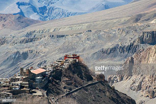 The Jarkot village in Mustang district