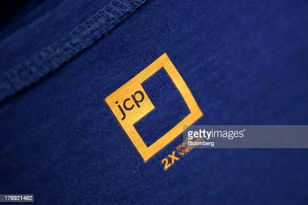 The JCP logo and 'made in Vietnam' stamp are displayed on a shirt at the JC Penney Co store inside the Glendale Galleria shopping center in Glendale...