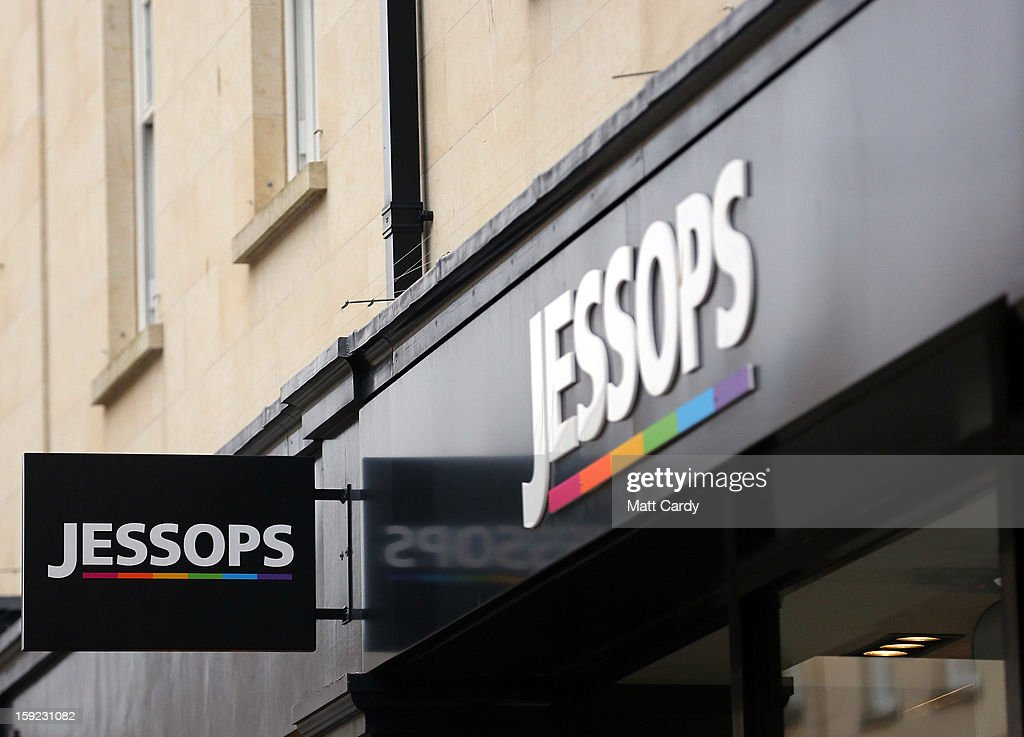 The Jessops logo is displayed outside a branch of the photographic retailer Jessops on January 10, 2013 in Bath, England.The camera retailer, which was established in the 1930s, has called in administrators, a move which puts more than 2,000 jobs at risk at its 193 stores across the UK. The announcement comes on the day that Marks and Spencer reported worse than expected Christmas clothing sales.