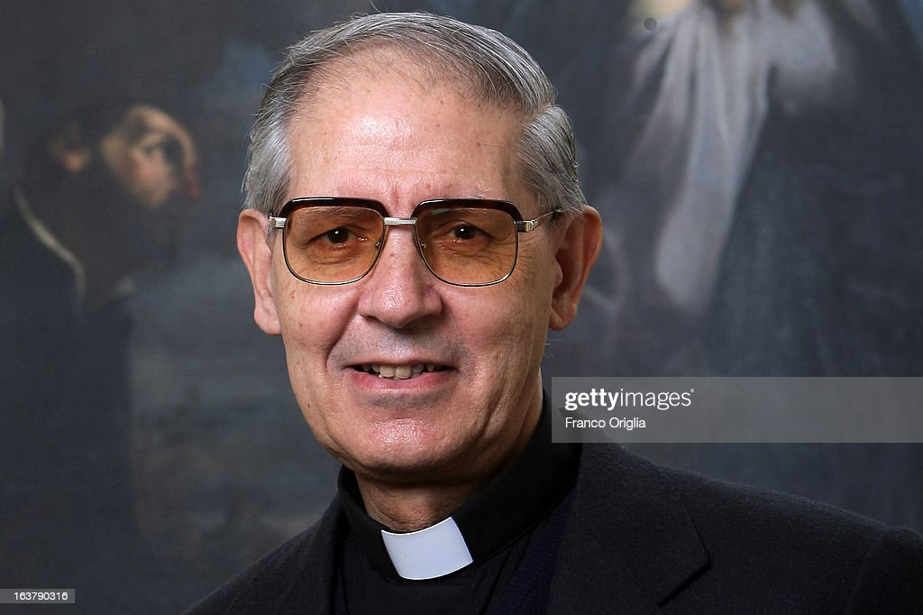 The Jesuit Superior General, also known as'Black Pope', Adolfo Nicolas of Spain poses in front of a portrait of Ignatius of Loyola, founder of the Jesuits at the Jesuit General Curia February 4, 2008 in Rome, Italy. The Argentinian Cardinal Jorge Mario Bergoglio was ordained for the Jesuits on 1969 at the Theological faculty of San Miguel and was elected as Pope Francis on March 13, 2013 as the first ever Jesuit pontiff. The Society of Jesus, founded in 1540 by the Spanish Ignatius of Loyola's, is a Christian male religious order of the Roman Catholic Church. The society is engaged in evangelization and apostolic ministry in 112 nations and on six continents. Jesuits operate in education (founding schools, colleges, universities and seminaries), intellectual research and cultural pursuits.