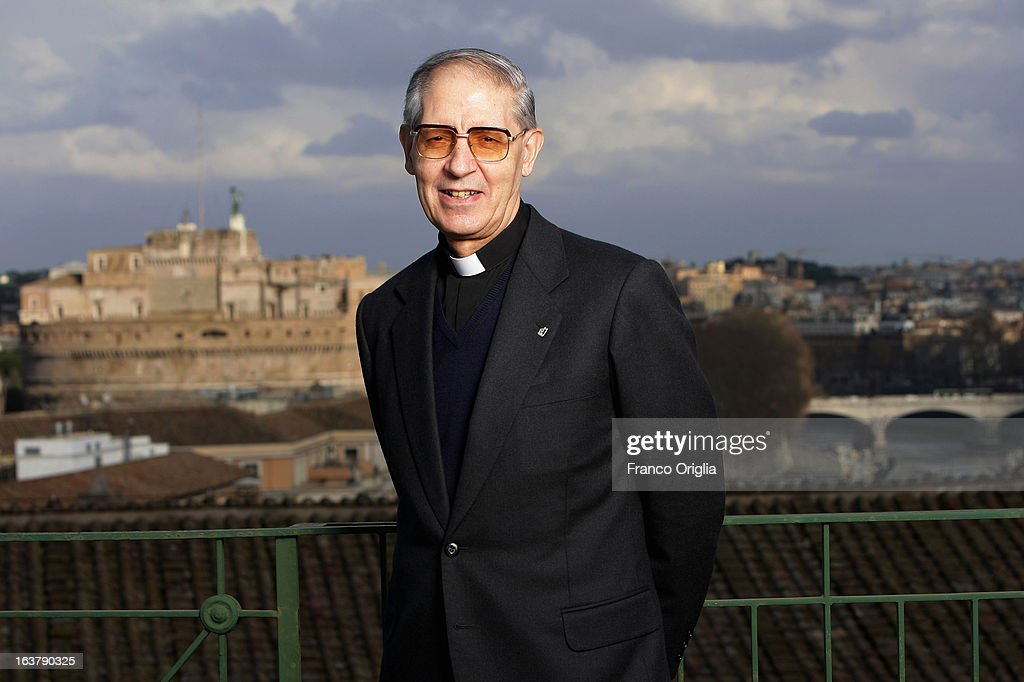 The Jesuit Superior General, also known as'Black Pope', Adolfo Nicolas of Spain poses on a terrace at the Jesuit General Curia February 4, 2008 in Rome, Italy. The Argentinian Cardinal Jorge Mario Bergoglio was ordained for the Jesuits on 1969 at the Theological faculty of San Miguel and was elected as Pope Francis on March 13, 2013 as the first ever Jesuit pontiff. The Society of Jesus, founded in 1540 by the Spanish Ignatius of Loyola's, is a Christian male religious order of the Roman Catholic Church. The society is engaged in evangelization and apostolic ministry in 112 nations and on six continents. Jesuits operate in education (founding schools, colleges, universities and seminaries), intellectual research and cultural pursuits.