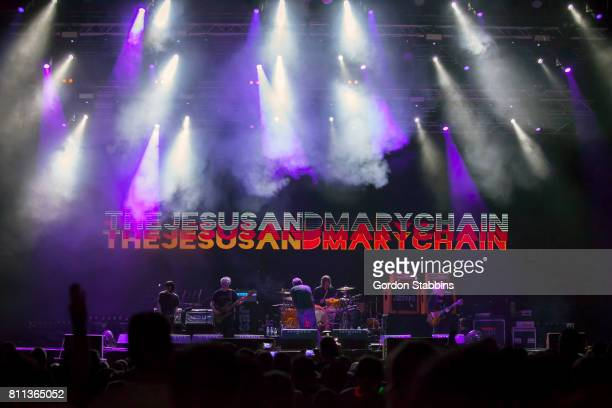 The Jesus and Mary Chain perform live during day two of Exit Festival on July 6 2017 in Novi Sad Serbia
