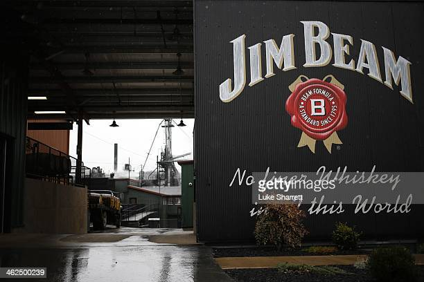 The Jim Beam Bourbon Distillery is seen January 13 2014 in Clermont Kentucky Japanese company Suntory Holdings acquired Beam Inc for $136 Billion in...