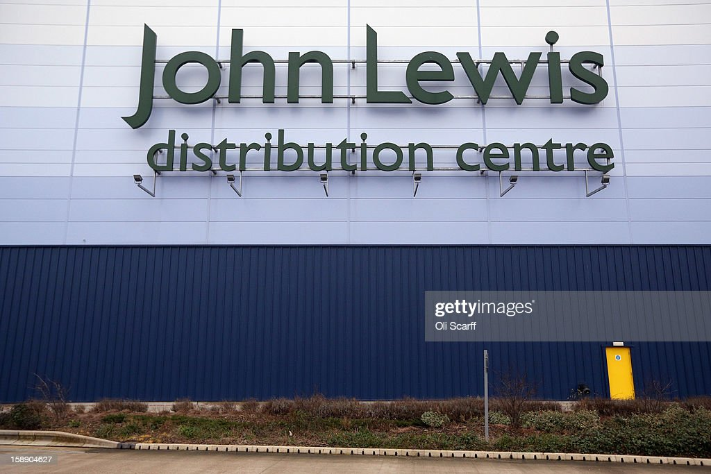 The John Lewis name is displayed outside the giant semi-automated distribution centre where the company's partners process the online orders for the John Lewis department store on January 3, 2013 in Milton Keynes, England. John Lewis has published their sales report for the five weeks prior December 29, 2012 which showed online sales had increased by 44.3 per cent over the same period in 2011. Purchases from their website Johnlewis.com now account for one quarter of all John Lewis business..
